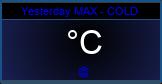 Eilen max lämpötila